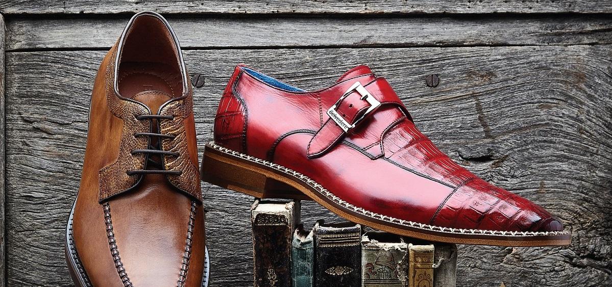 Alligator Shoes for Men, Crocodile