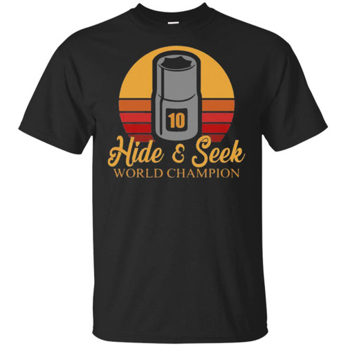 10 Hide and Seek World Champion Cotton T-Shirt for Men