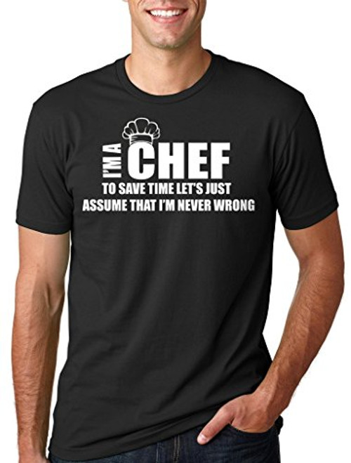 Unisex Chef T-Shirt Gift for Chef Tee Shirt Funny Occupation T-Shirt