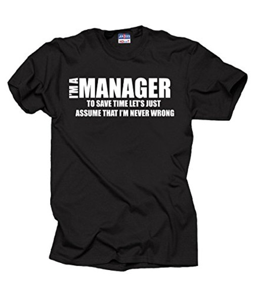 Unisex Manager t-shirt funny manager shirt