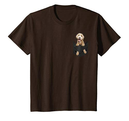 Youth Dog in Your Pocket Labradoodle t shirt tee shirt