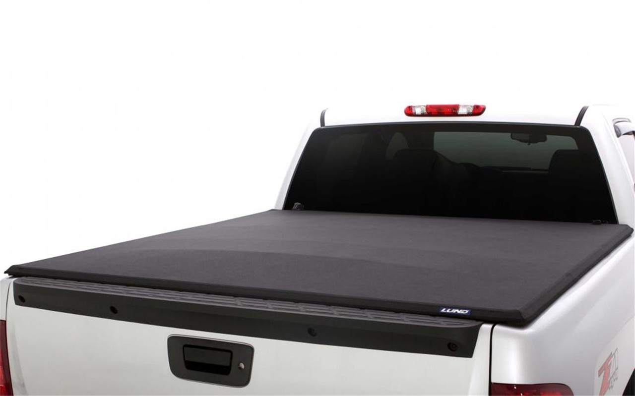 Lund 04 12 Chevy Colorado 5ft Bed Genesis Elite Tri Fold Tonneau Cover Black 95880 Complete Street Performance
