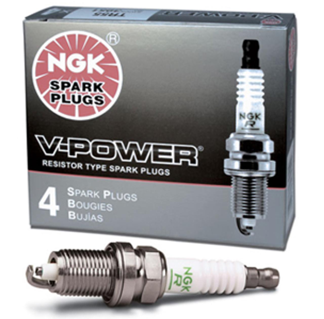 NGK V-Power TR-6 Spark Plugs (Set of 8) - GM LSx V8 (One Step Colder for  Forced Induction/Nitrous)