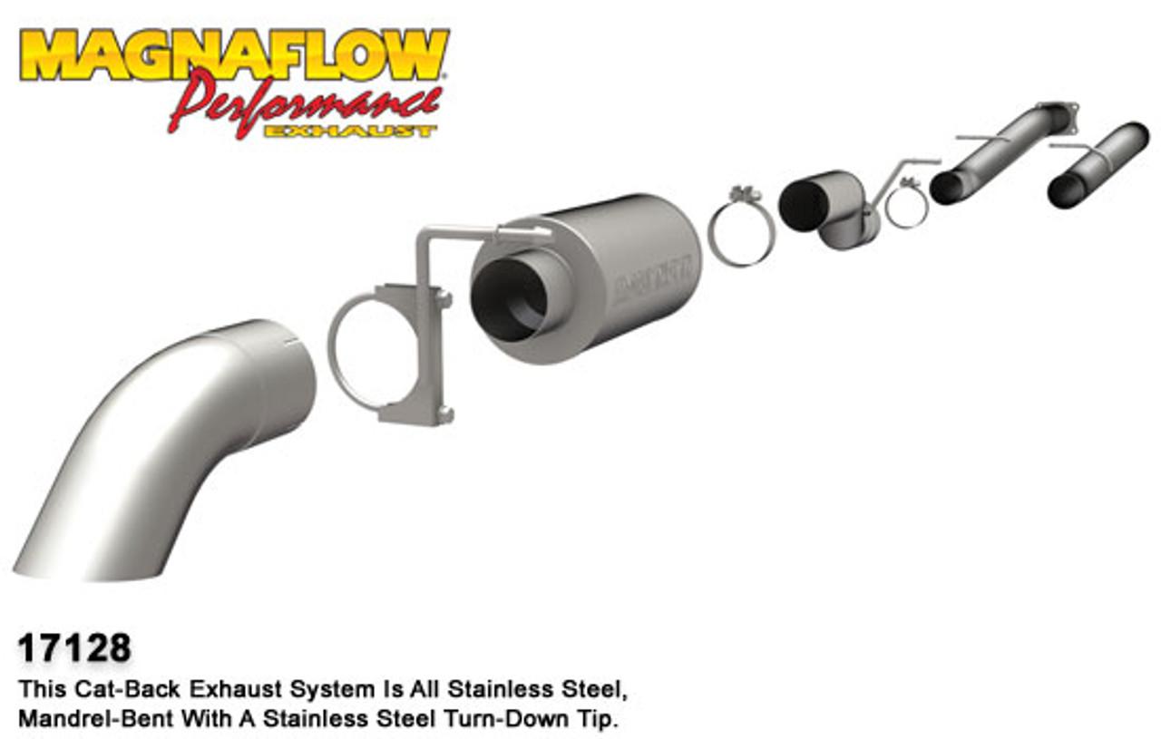 MagnaFlow 18931 Cat-Back Exhaust System