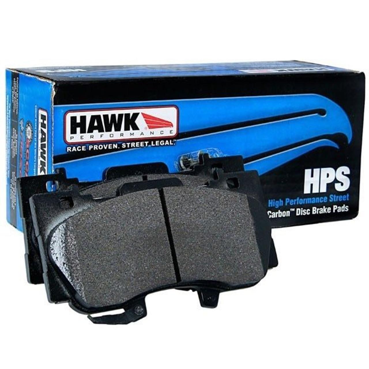 Hawk Brake Pads >> Hawk Hps Brake Pads Rear Pair 2009 2015 Cadillac Cts V 2015 2017 Chevy Ss 2010 2015 Camaro Ss Zl1 Dodge Jeep Brembo Applications