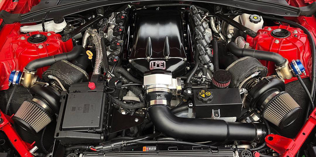 Hellion Twin Turbo System Tuner Kit - 2017+ Chevy Camaro ZL1 (6 2L LT4)