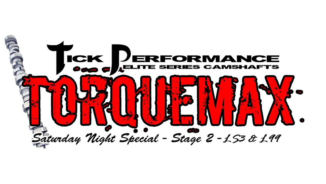Tick Performance SNS TorqueMAX Stage 2 Camshaft for LS3 & L99 Engines