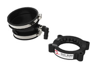 aFe Power 46-34017B - 2020 Vette C8 Silver Bullet Aluminum Throttle Body Spacer / Works With Factory Intake Only - Blk