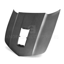 Anderson Composites AC-HD14CHCAM-Z28-DRY - 14-15 Chevrolet Camaro SS / 1LE / Z28 Type-Z28 Dry Carbon Hood