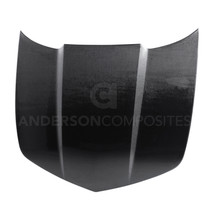 Anderson Composites AC-HD1011CHCAM-OE - 2010-2013 Chevrolet Camaro Type-OE Style Hood
