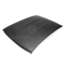 Anderson Composites AC-CR1011CHCAM-DRY - 10-15 Chevrolet Camaro Dry Carbon Roof Replacement (Full Replacement)