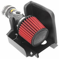 AEM Induction Cold Air Intake Round Red Non-woven Synthetic System # 21-822C