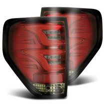 AlphaRex 650020 - 09-14 Ford F-150 (Excl Flareside Truck Bed Models) PRO-Series LED Tail Lights Red Smoke