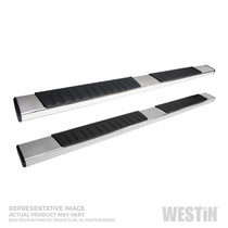 Westin 28-71290 - R7 Nerf Step Bars; Stainless Steel; For Super Crew Cab;