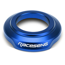Raceseng 081601BL - Shift Boot Collar (For Non-Threaded Adapters/No Big Bore Knobs/No Reverse Lockouts) - Blue
