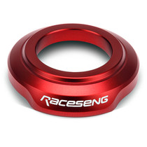 Raceseng 081601R - Shift Boot Collar (For Non-Threaded Adapters/No Big Bore Knobs/No Reverse Lockouts) - Red