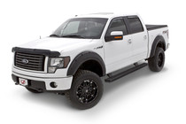 Lund RX135S - 2019 Ford Ranger RX-Style 4pc Smooth Fender Flares - Black