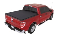 Lund 04 14 Ford F 150 6 5ft Bed Genesis Elite Tri Fold Tonneau Cover Black 95873 Complete Street Performance