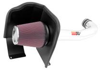 K&N Cold Air Intake Kit (Polished) - 2014-2018 Chevrolet Silverado, GMC Sierra & Full Size GM SUV (5.3L & 6.2L V8) - 77-3082KP