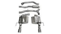 Corsa Catback Sport Exhaust System - 2013+ Cadillac ATS Sedan (2.0L Turbo, Auto) - 14888