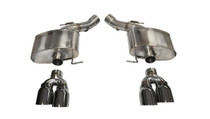 Corsa Sport Axleback Exhaust w/Polished Tips - 2012-2015 BMW M6 F12/F06/F13 Convertible/Gran Coupe/Coupe - 14929