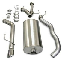 Corsa Touring Catback Exhaust w/Polished Tips - 2008-2015 Toyota Sequoia (5.7L V8) - 14573