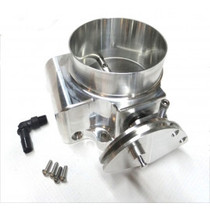 Nick Williams 92mm Billet Throttle Body (Natural Finish)- Cable Drive LSX - NW92MMTB