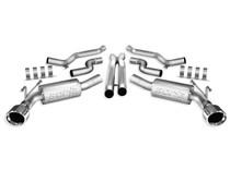 Borla Atak Catback Exhaust w/ X-pipe - 2010-2013 Chevy Camaro SS (6.2L V8) - 140356