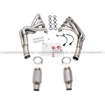 aFe Power PFADT Series Tri-Y Headers & Catted Connection Pipes - 2010 -2015 Chevy Camaro SS & ZL1 (6.2L V8) - 48-34123-YC