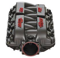 MSD Atomic AirForce Intake Manifold (Red Logo) - GM LS1, LS6, and LS2 Engines - 2702
