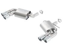 Borla Atak Dual Mode (non-NPP) Axleback Exhaust - 2016+ Camaro SS (6.2L V8) - 11921