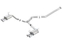 Borla Catback Exhaust System - 2011-2014 Subaru WRX/WRX STI Sedan - 140418