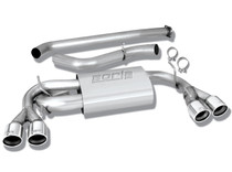 Borla Catback Exhaust System - 2008-2012 Subaru Impreza WRX STI Hatchback - 140312