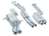 Borla Catback Exhaust w/Polished Tips - 2001-2005 BMW E46 325/330 I/CI (2.5L/3.0L) - 140084