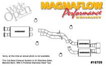 Magnaflow Catback Exhaust - 2006-2010 Jeep Grand Cherokee SRT8 6.1L Hemi - 16709