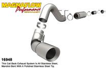 """Magnaflow Performance 5"""" (Cat Back) Exhaust System - 1999-2007, Ford F-250/350 Super Duty, V8 6.0L/7.3L (CC-SB/LB) - 16948"""