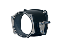Magnuson 103mm Inlet and Barbs (Compatible with Nick Williams 103mm Throttle Body) - 31-23-05-047-BL