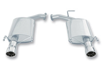Borla Axleback Exhaust w/Polished Tips - 2007-2011 Toyota Camry LE/SE/XLE (3.5L V6) - 11758