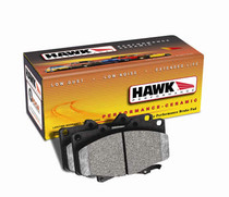 Hawk Performance Ceramic Brake Pads (Front Pair) - 2005-2006 Pontiac GTO, 1997-2006 Chevy Corvette C5 & C6 (excludes C6 Z06) - HB247Z.575
