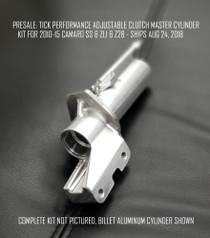 Tick Performance Adjustable Clutch Master Cylinder - 2010+2015 Camaro SS, ZL1, Z28 and 2009 Pontiac G8 GXP - TAMCK5G
