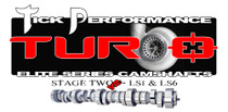 Tick Performance Turbo Stage 2 V2 Camshaft for LS1 & LS6 Engines - TPT002V2