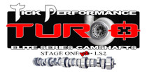 Tick Performance Turbo Stage 1 V2 Camshaft for LS2 Engines - TPT0012V2