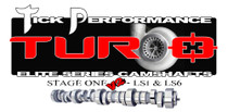 Tick Performance Turbo Stage 1 V2 Camshaft for LS1 & LS6 Engines - TPT001V2