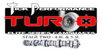 Tick Performance Turbo Stage 2 Camshaft for 4.8L & 5.3L Engines - TPT002TR