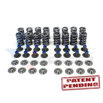 Texas Speed Gen 5 Dual Spring Kit with PAC Springs, Titanium Retainers, & PRC Integrated Seat/Seal - #199-ISSLT1660SPRINGKIT