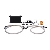 Mishimoto Oil Cooler Kit (Black) - Thermostatic - 2010-2015 Chevy Camaro SS (6.2L V8) - MMOC-CSS-10TBK