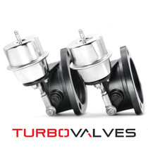 "Turbo Valves by Armageddon : 3"" Round Universal Exhaust Cutouts (Pair) - TV3020K"