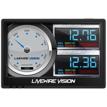 SCT Performance 5015PWD - Livewire Vision Performance Monitor (for 1996+ Ford Vehicles)
