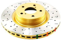 DBA 4000 Series XS Drilled & Slotted Brake Rotor (Front) - 2008-2009 Pontiac G8 GT (6.0L V8) - 42028XS