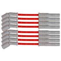 MSD Super Conductor Spark Plug Wire Set (Red) - GM LT1/LT4 Applications  - 33829
